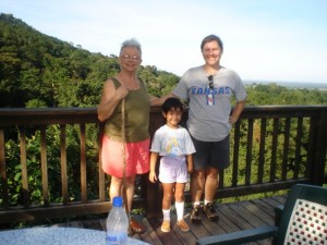 Family vacation at the Lodge at Pico Bonito