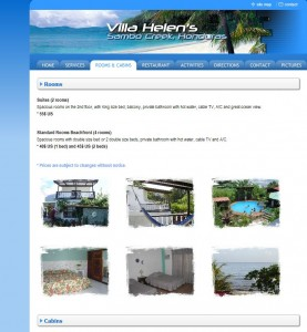 Villa Helen's website